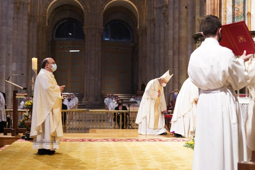 El nuevo obispo auxiliar de Santiago de Compostela